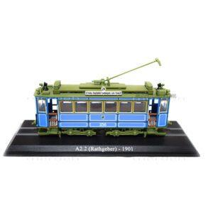 ماکت قطار شهری Atlas Collections مدل A2.2 (Rathgeber) 1901 Tram