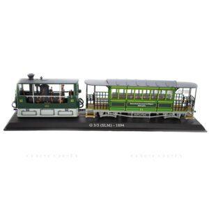 ماکت قطار شهری Atlas Collections مدل G 3/3 (SLM) 1984 TramWays