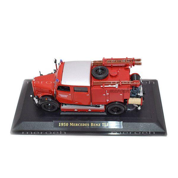 ماکت ماشین آتش نشانی Lucky Die Cast مدل Mercedes Benz TLF