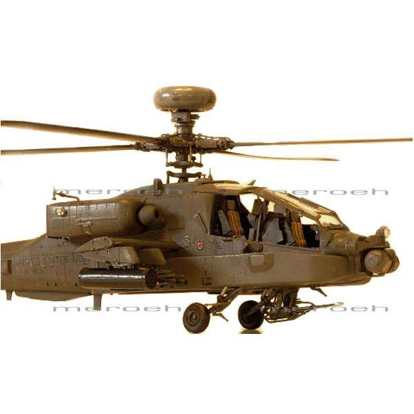 ماکت هلیکوپتر Italeri مدل AH-64 Apache Long BOW