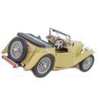 ماکت ماشین Motor Max مدل MG TC Midget