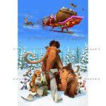 فیگورهای کارتون Ice Age مدل های Manny, Diego, Sid, Scrat