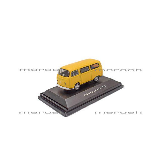 ماکت ماشین Welly مدل Volkswagen Bus T2 1972