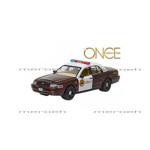 ماکت ماشین GreenLight مدل 2005 Ford Crown Victoria Police Interceptor