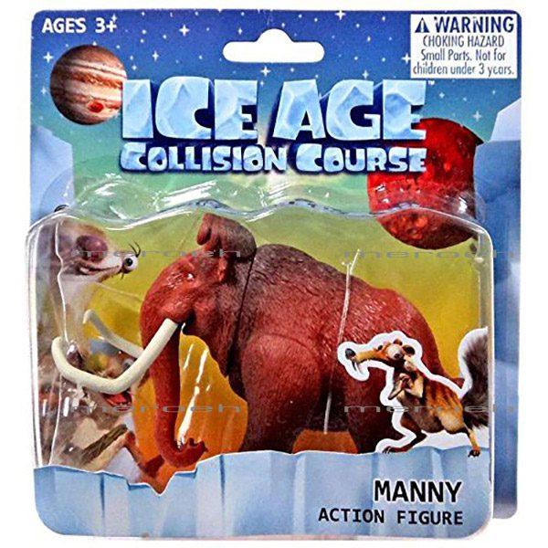 فیگور ماموت کارتون Ice Age مدل Manny