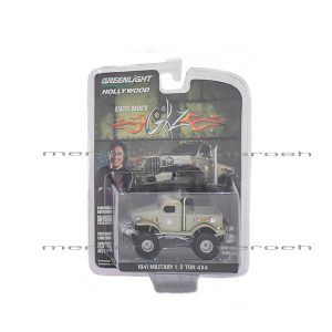 ماکت کامیون سبک GreenLight مدل Military 1/2 Ton 4x4
