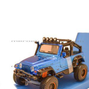 ماکت ماشین جیپ Maisto مدل Jeep Wrangler Rubicon با مقیاس 1:35