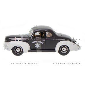 ماکت ماشین پلیس Maisto مدل 1939 Ford Deluxe