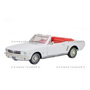 ماکت ماشین سری پلاتینیوم Motor Max مدل ۱۹۶۴ Ford Mustang