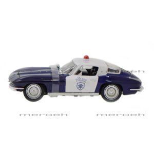 ماکت ماشین پلیس Maisto مدل Chevrolet Corvette