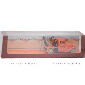 ماکت کامیون حمل ماشین سری فیلم های تن تن ساخت Atlas مدل LE Crabe Aux Pinces