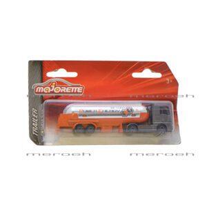ماکت تانکر حمل سوخت گاز Majorette مدل Trailer Man TGX