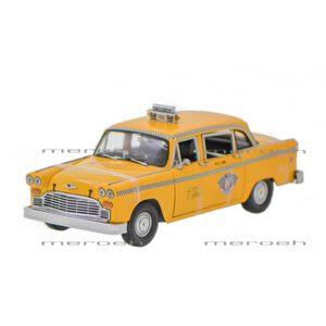 ماکتماشین تاکسی Sun Star مدل New York Checker