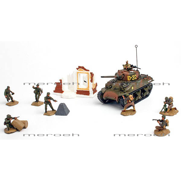 ماکت تانک Forces of Valor مدل US M4A1 Sherman