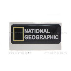 برچسب تزئینی ژله ای ماشین مدل National Geographic