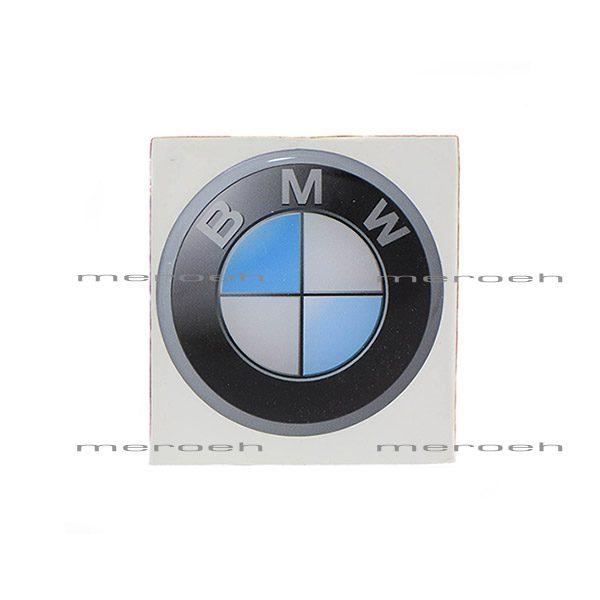 برچسب تزئینی ژله ای لوگوی ماشین BMW