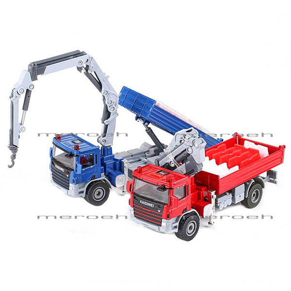 کامیون جرثقیل حمل مصالحKDW مدل Atego With Crane