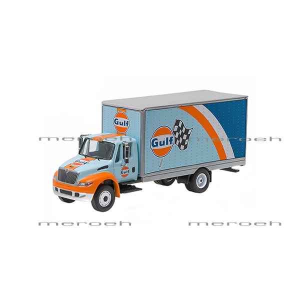 ماکت ماشین GreenLight مدل International DuraStar Box Truck