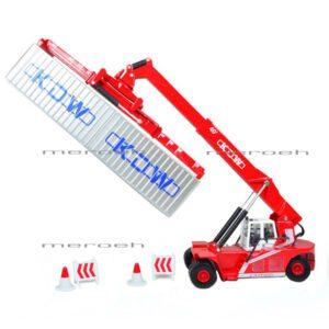 ماکت لیفتراک KDW مدل Reach Stacker