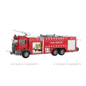 ماکت ماشین آتش نشانی آبپاشKDW مدل Water Fire Engine