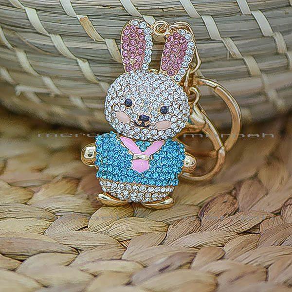 جاکلیدی Nadasa طرح خرگوش نگین دار