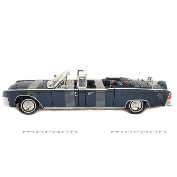 ماکت ماشین لینکولن Yatming مدل Lincoln X-100 Kennedy Car